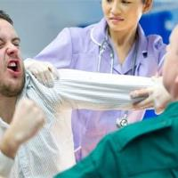 Protect Health staff from violence by patients